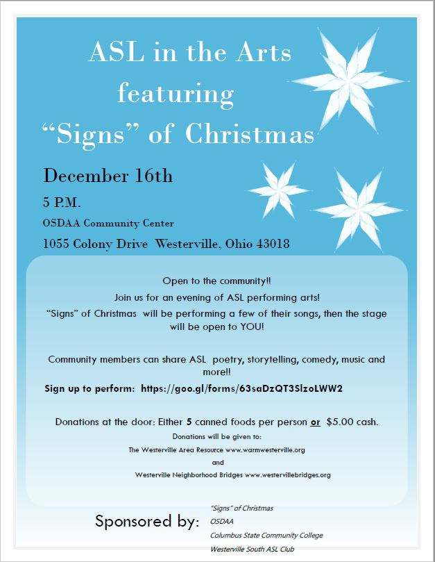 asl in the arts signs of christmas - Asl Christmas